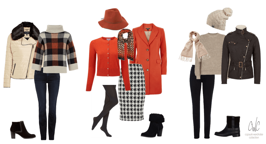 Capsule Wardrobe Collection Halloween and Bonfire night outfits