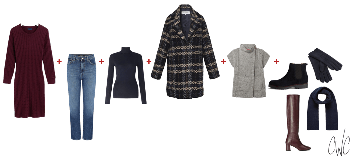 5-piece casual smart capsule wardrobe for outdoor events